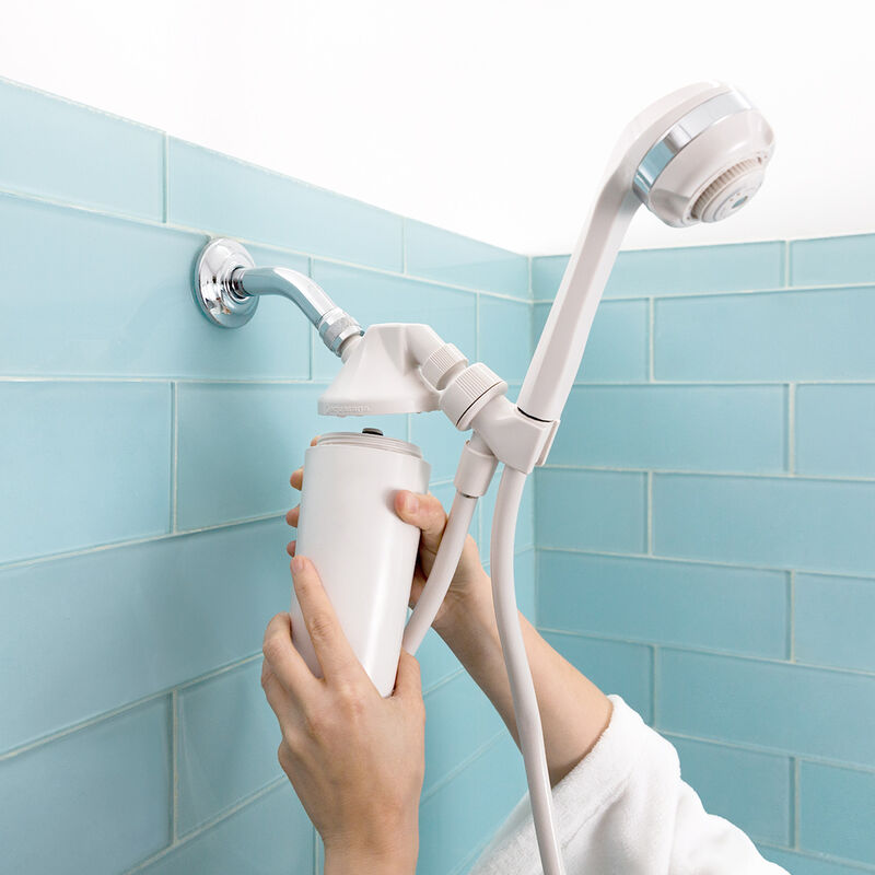 Shower Filter with Handheld Wand - White image number 2