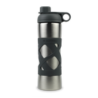 Stainless Steel Insulated Clean Water Bottle - Charcoal image number 0