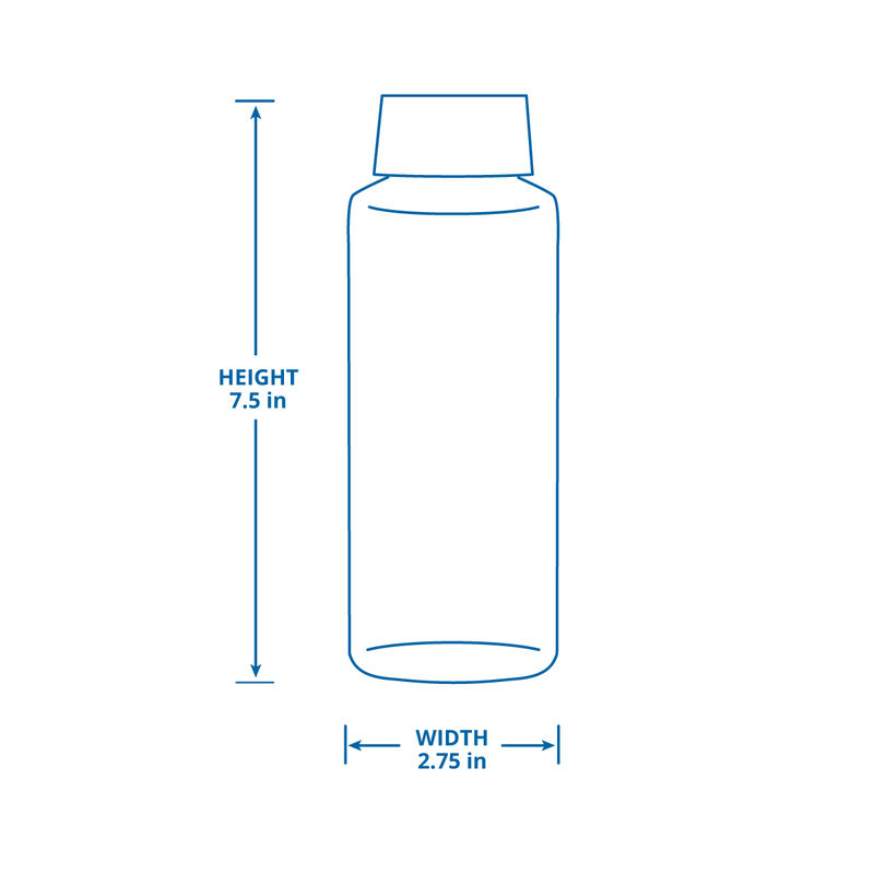 Glass Water Bottle - 6 Pack image number 1