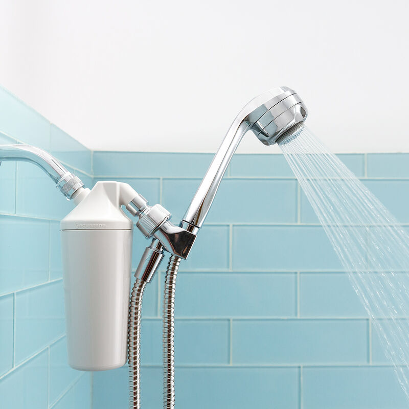 Shower Filter with Handheld Wand - Chrome image number 1