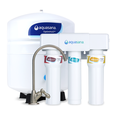 OptimH2O® Reverse Osmosis + Claryum® - Brushed Nickel