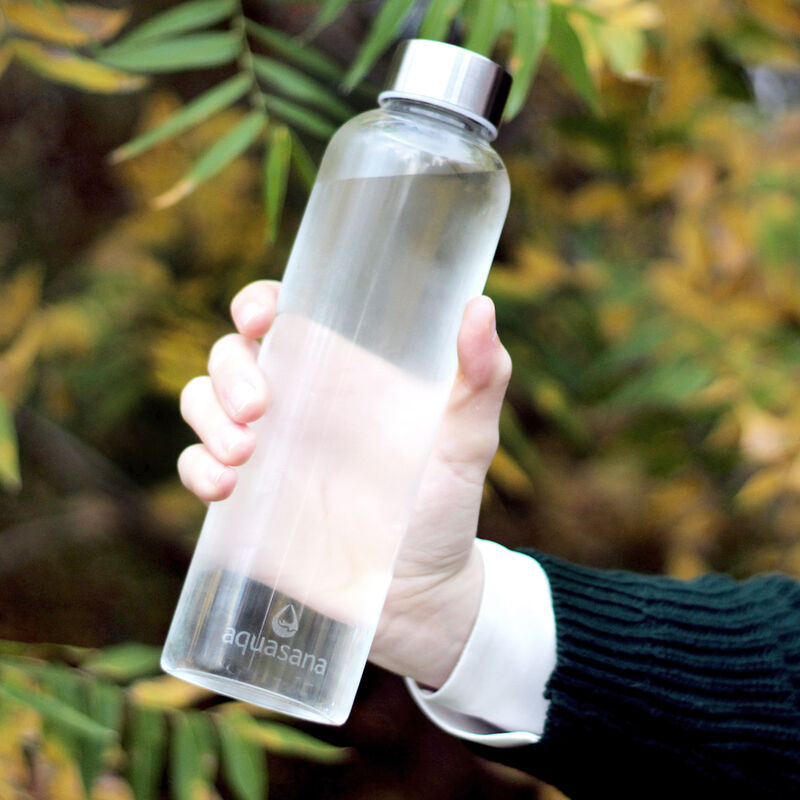 Premium Glass Water Bottle - 6 Pack image number 3