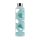 Premium Glass Water Bottle with Sleeve - Glacier image number 0