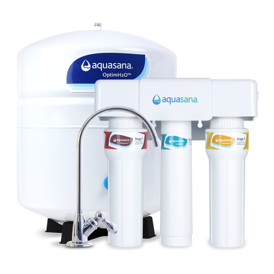 OptimH2O® Reverse Osmosis + Claryum® - Chrome