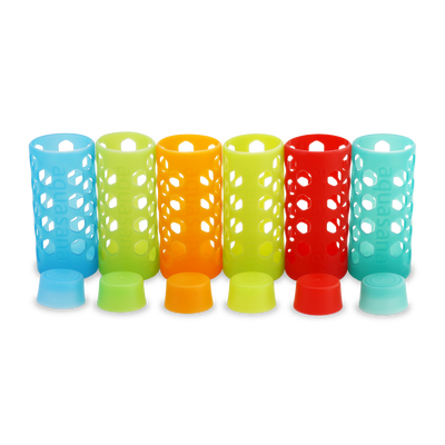 Sleeves and Bottle Caps - 6 Pack - Multicolor