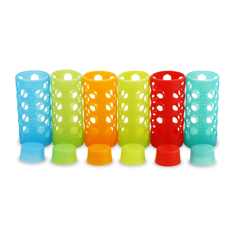 Sleeves and Bottle Caps - 6 Pack - Multicolor image number 0