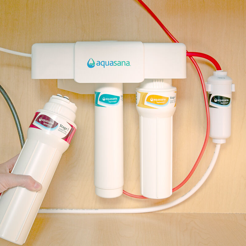 OptimH2O® Reverse Osmosis + Claryum® Carbon and Claryum® Filter Replacements image number 5