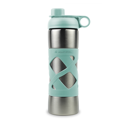 Stainless Steel Insulated Clean Water Bottle - Glacier