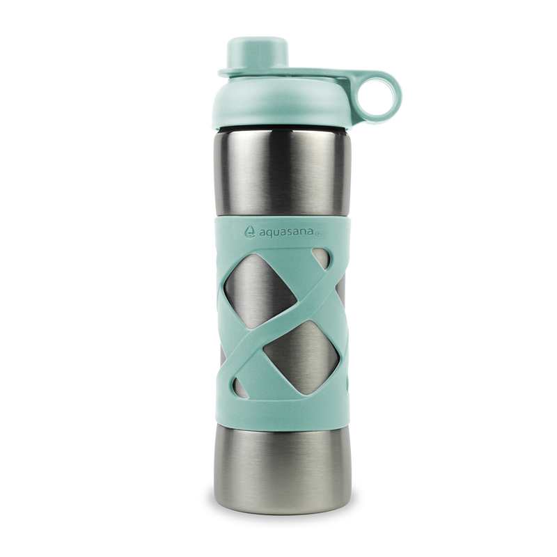 Stainless Steel Insulated Clean Water Bottle - Glacier image number 0