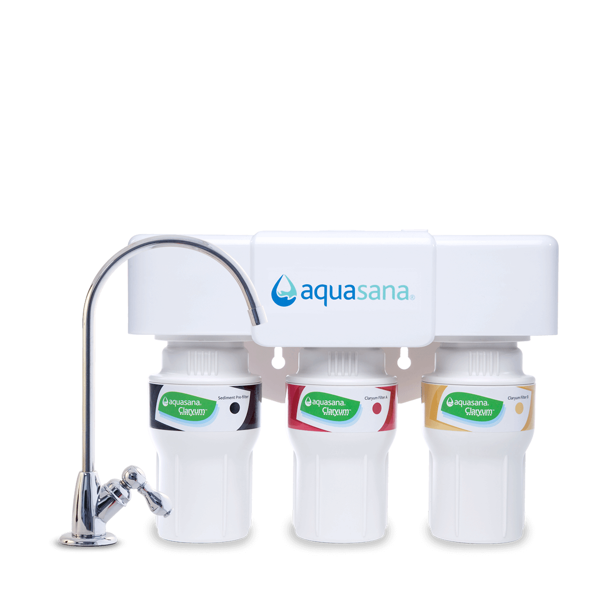 Aquasana waterfilter systems under the sink